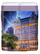 Plaza Hotel Duvet Cover