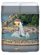 Point State Park Duvet Cover