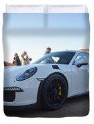 Porsche 911 Gt3rs Duvet Cover