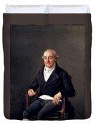 Portrait Of Cooper Penrose Duvet Cover