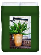 Potted Plant Duvet Cover