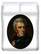 President Andrew Jackson - Four Duvet Cover