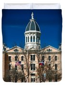 Presidio County Courthouse Duvet Cover