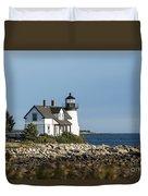 Prospect Harbor Lighthouse Duvet Cover