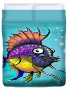 Rainbow Fish Duvet Cover