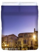 Reus Triptych, Spain Duvet Cover