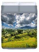 Rice Terrace Duvet Cover