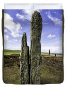 Ring Of Brodgar Duvet Cover