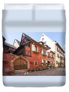 Riquewihr France Duvet Cover