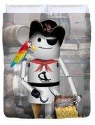 Robo-x9 The Pirate Duvet Cover