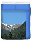 Rocky Mountains 2 Duvet Cover