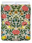 Rose Design Duvet Cover