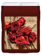 Rose - Flower Duvet Cover