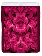 Roses Tapestry And Curls Duvet Cover