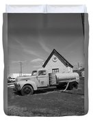 Route 66 - Mclean Texas Duvet Cover