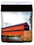 Sachs Bridge - Gettysburg Duvet Cover