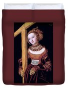 Saint Helena With The Cross Duvet Cover