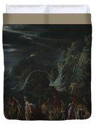 Saint Paul On Malta Duvet Cover