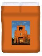 San Miguel Mission Church Duvet Cover