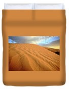 Sand Dune At Great Sand Hills In Scenic Saskatchewan Duvet Cover