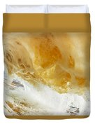 Sandy Wave Duvet Cover