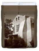 Santa Fe - Adobe Church Duvet Cover