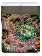 Sea Anemones Duvet Cover