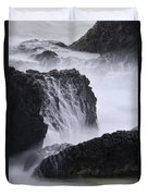 Seal Rock Waves And Rocks 4 Duvet Cover