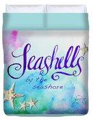 Seashells By Jan Marvin Duvet Cover