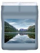 Ship Island Lake Duvet Cover