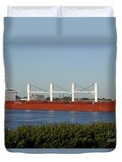 Shipping - New Orleans Louisiana Duvet Cover