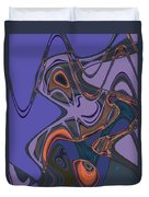 Shirley Maclaine's Grasshopper Phase Duvet Cover