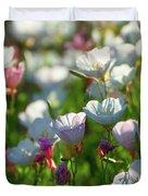 Showy Evening Primrose Duvet Cover