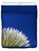 Silversword Plant Duvet Cover