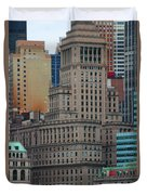 Skyline Of Manhattan - New York City Duvet Cover