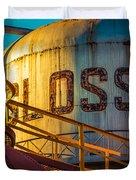 Sloss Furnaces Duvet Cover