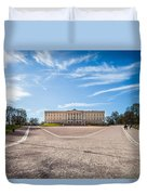 Slottet, The Royal Palace In Oslo, Norway Duvet Cover