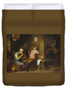 Smokers And Drinkers Duvet Cover