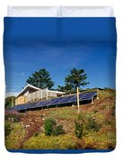 Solar Panels Duvet Cover