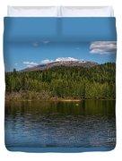 South Skookum Lake Duvet Cover