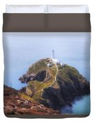 South Stack - Wales Duvet Cover