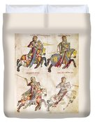Spain: Knights, C1350 Duvet Cover