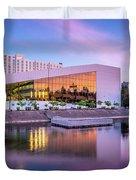 Spokane Washington City Skyline And Convention Center Duvet Cover