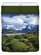 Springtime In Patagonia Duvet Cover
