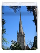 St Mary The Virgin Ross-on-wye Duvet Cover