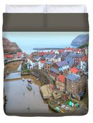 Staithes - England Duvet Cover