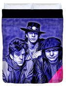 Stevie Ray Vaughan And Double Trouble Collection Duvet Cover