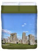 Stonehenge - England Duvet Cover