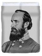 Stonewall Jackson Duvet Cover by War Is Hell Store