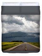 Storm Clouds Prairie Sky Duvet Cover